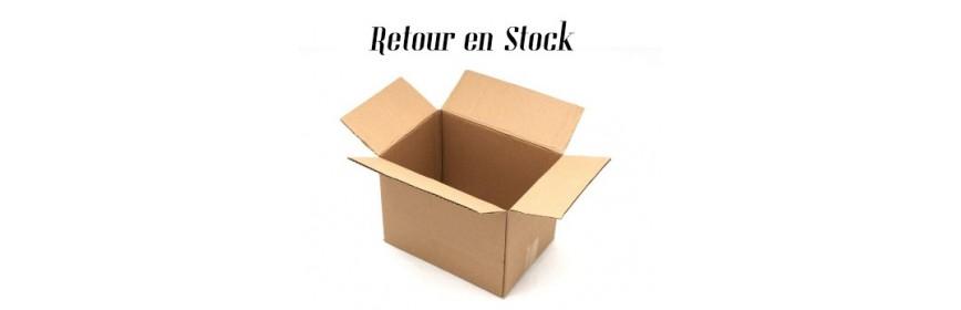 Retours en stock