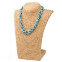 Colliers en Eclats de pierre de Turquoise