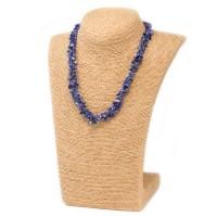 Colliers en Eclats de pierre de Lapis Lazuli
