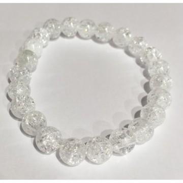 Bracelet de Cristal de Roche craquelé