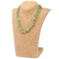 Colliers en Eclats de pierre de Jade
