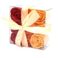 Coffret de Roses de bain - Parfum Pêche