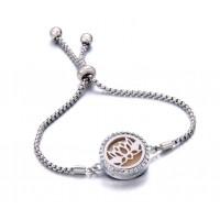Bracelet Diffuseur d'huiles essentielles  - Lotus