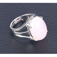 Bague de Quartz Rose