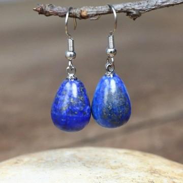 Boucles d'oreilles en Lapis Lazuli