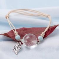 Bracelet Fleur pressée -  Graines Pissenlit