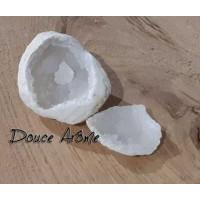 Géode de Calcite Blanche