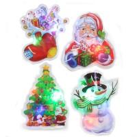 Autocollants clignotants de Noël